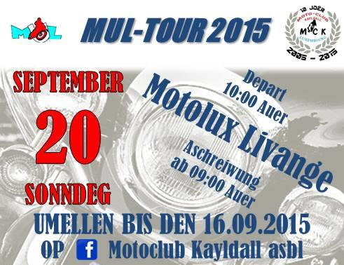 Mul Tour 2015